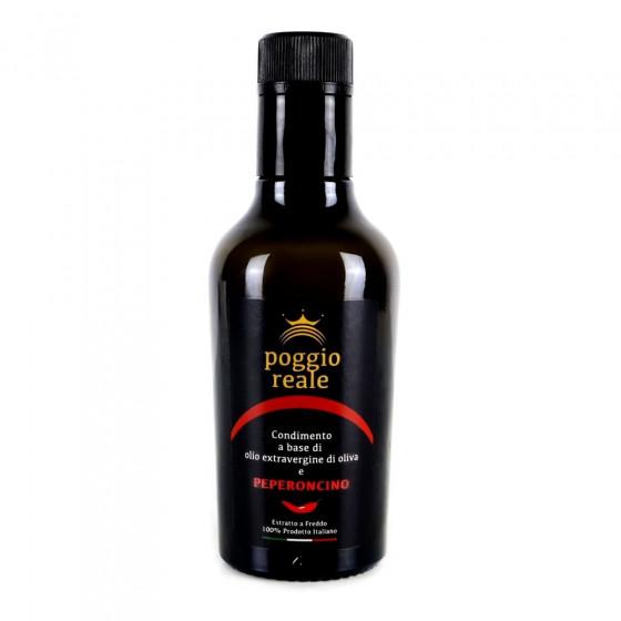 Poggio Reale Condimento Olio Extravergine di Oliva  Peperoncino Litri 0,250